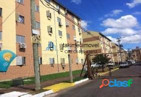 Apartamento com 2 dormitórios à venda, 40 m² por r$ 106.000 rubem berta - porto alegre/rs