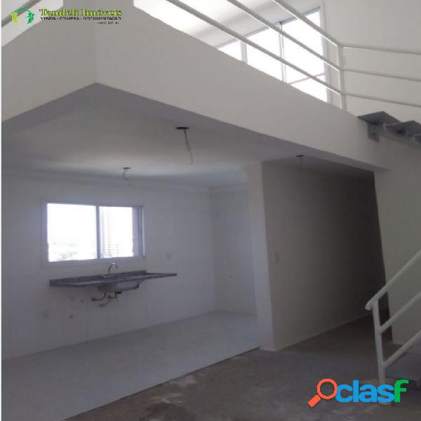 Cobertura duplex 3 dormitórios - bairro campestre