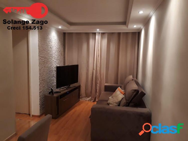 Belo apartamento! com mobília no horto do ipê 48 m², 2 dorms com vaga, z/s