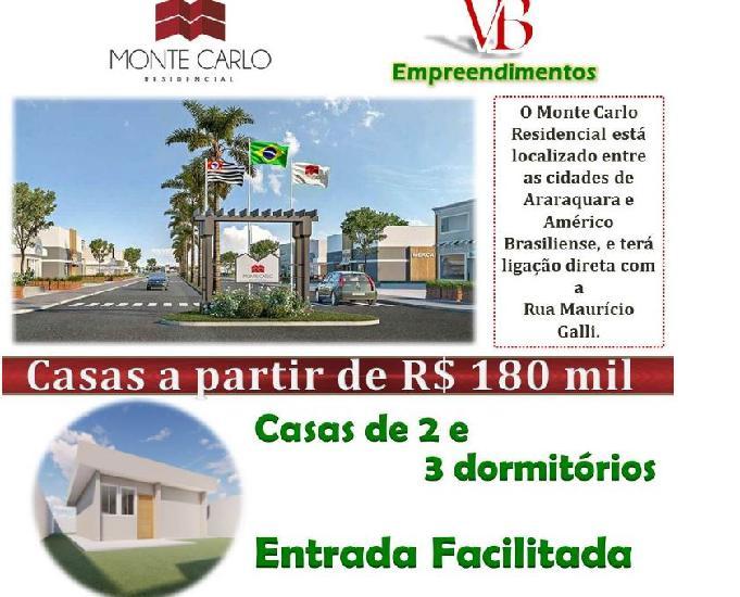 Casa residencial monte carlo araraquarasp
