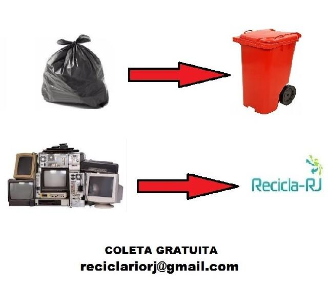 Coleta gratuita de lixo eletrônico