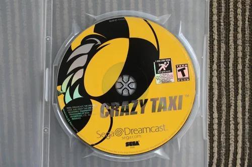 Crazy taxi original americano dreamcast tijuca - rj