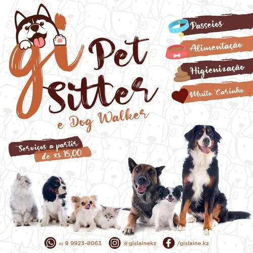Cuidadora de pet - pet sitter e dog walker