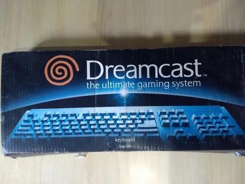 Dreamcast teclado com caixa