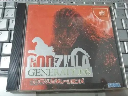 Godzilla original - sega dreamcast
