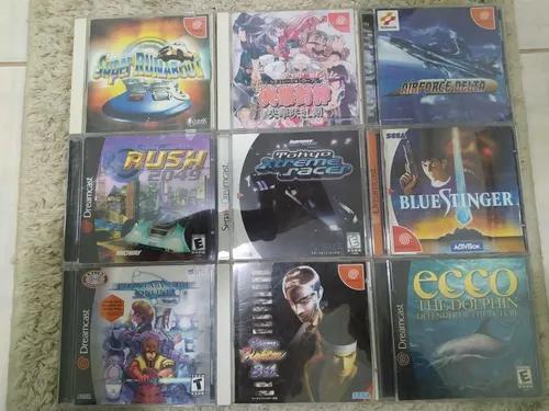 Lote de 9 jogos sega dreamcast original usados
