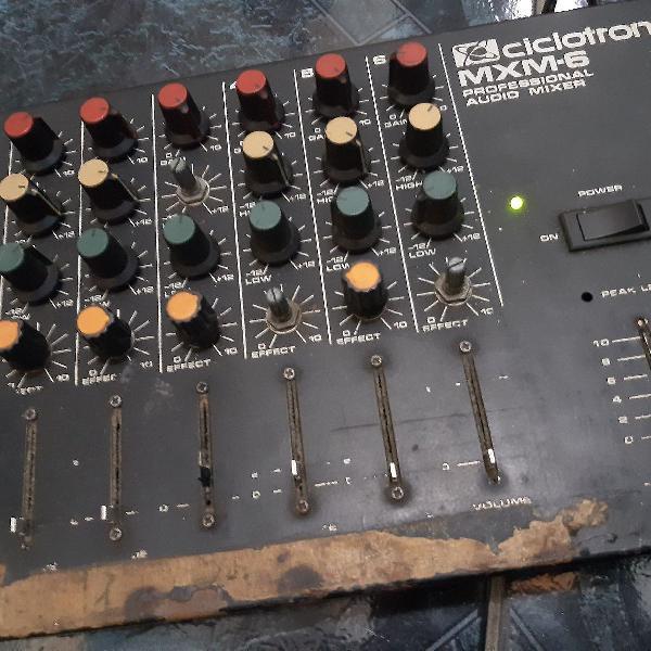 Mesa de som ciclotron mxm 6