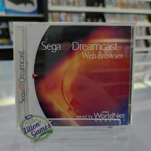 Sega dreamcast web browser original completo