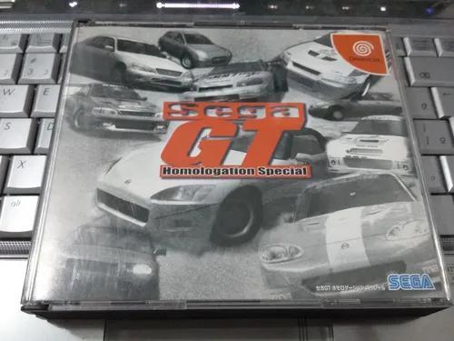 Sega gt original e completo - sega dreamcast
