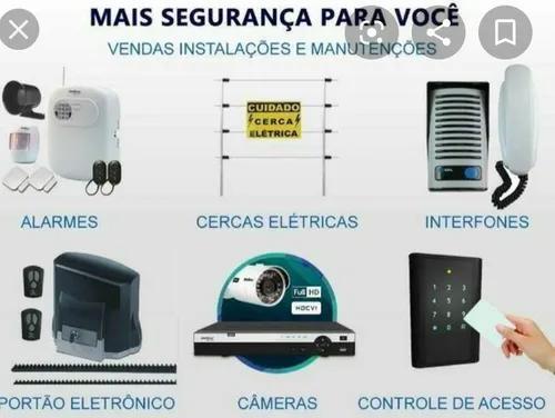 Segurança eletrônica, instalações e manutenções