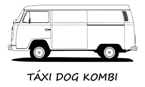 Táxi dog kombi para cachorro de médio e grande porte.