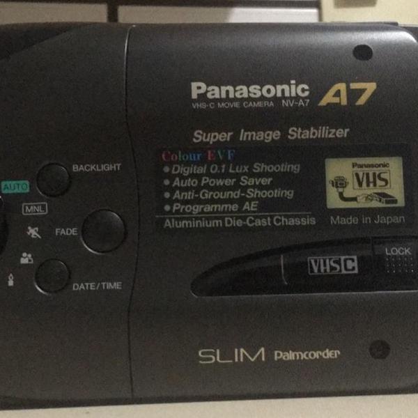 Câmera filmadora panasonic modelo a7
