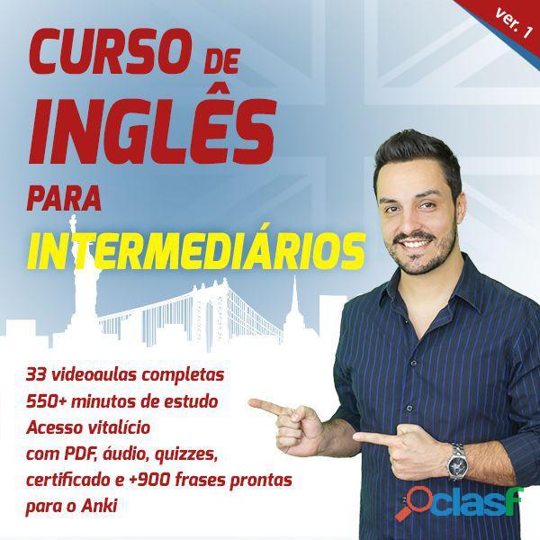 Curso de Inglês para intermediârios