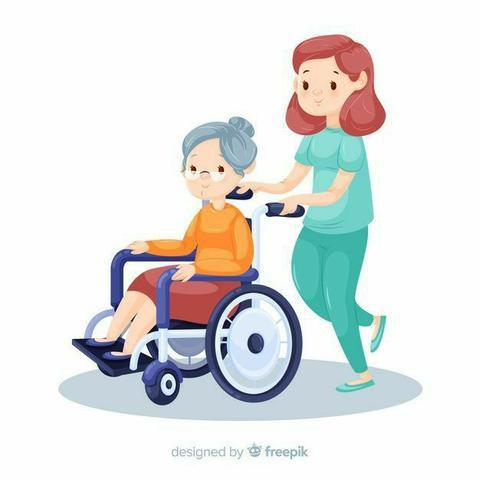 Cuidadora de idoso.