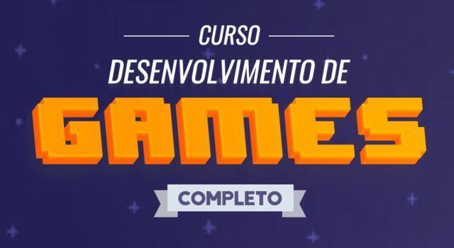Curso online completo de criação de jogos com blender