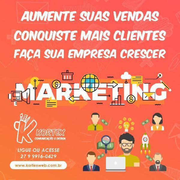 Gerenciamento de rede social / marketing digital / anuncio
