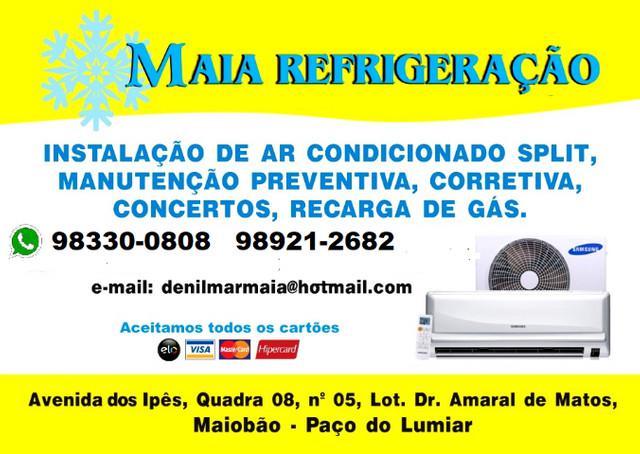 Instalação e serviços de ar condicionado * whatsapp