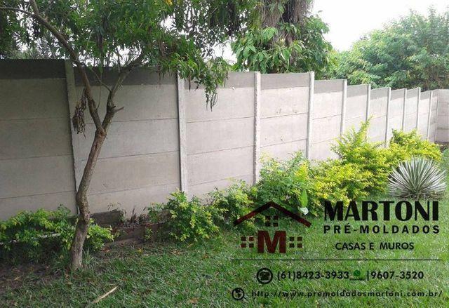 Procuro montado de muro e casa pre moldados