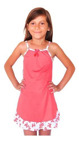 10 camisola infantil de menina no atacado algodão estampada