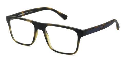 Armação de óculos clip on