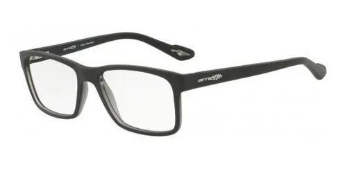 Armação oculos grau arnette an7112l 2402 preto fosco