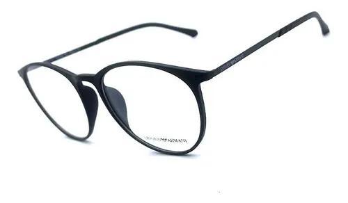 Armação oculos grau masculino redondo original