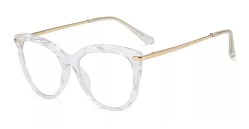 Armação óculos de grau cristal 3d lapidad f