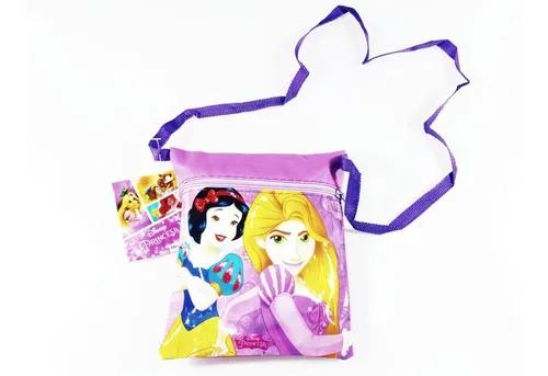 Bolsinha tiracolo vinil disney princesas infantil menina