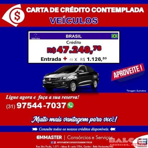 Carta de crédito para veículos