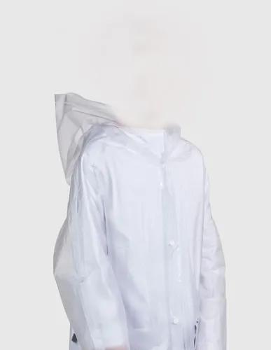 Capa de chuva crianças infantil impermeavel transparente