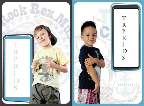 Kit 05 camiseta infantil malha algodão lote criança