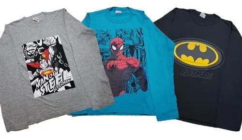Kit 5 camisas juvenil infantil atacado moda crianças jovens