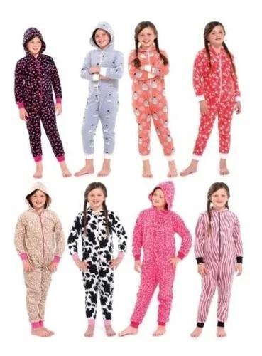 Macacão pijama infantil criança menina menino bebe