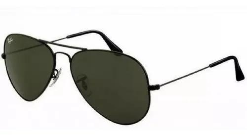 Oculos de sol ray ban aviador preto promoção relâmpago