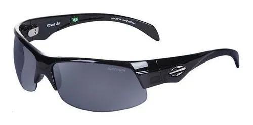 Oculos sol mormaii street air 35021001 preto brilho lente