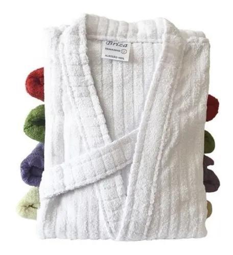 Roupão de banho briza infantil manga curta tamanho 10