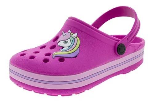 Sandália infantil babuche criança baby crocs