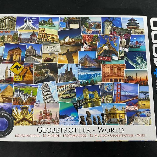 Puzzle quebra cabeça 1000 peças viagens