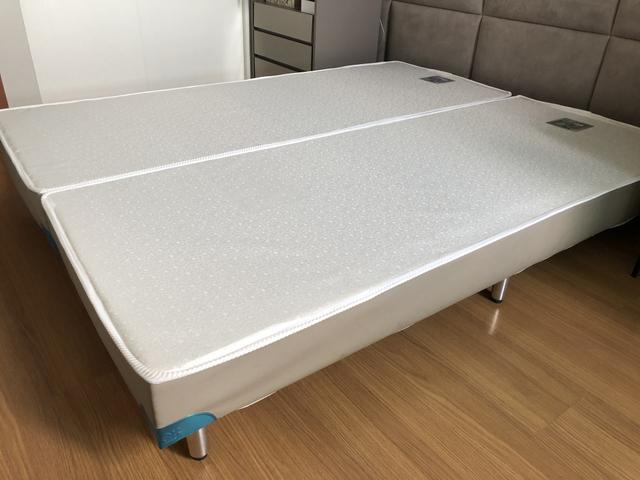 Base para cama box queen da líder interiores