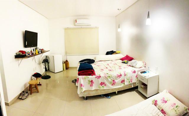 Casa no condomínio sol nascente, com 3 quartos, sendo duas