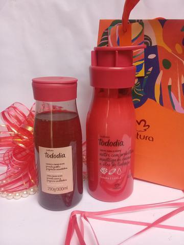 Hidratante 400ml e sabonete líquido 300ml natura todo dia