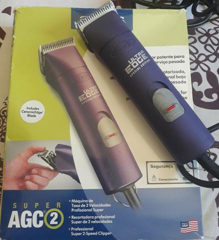 Máquina de tosa andis agc2 roxa super special edition