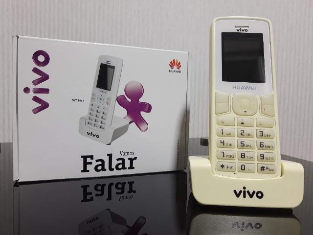 Telefone sem fio fixo chip huawei f661