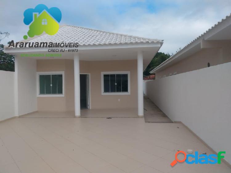 Excelente casa bem ampla com fino acabamento via asfaltada pontinha