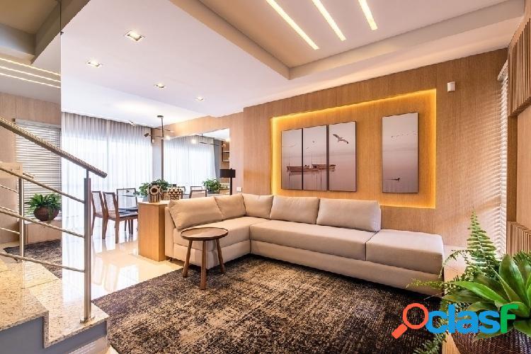 Lançamento em condomínio triplex com terraço a venda