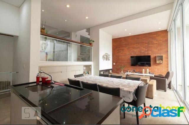 Excelente sobrado moderno no brooklin, 3 dormitórios, 300 m³.