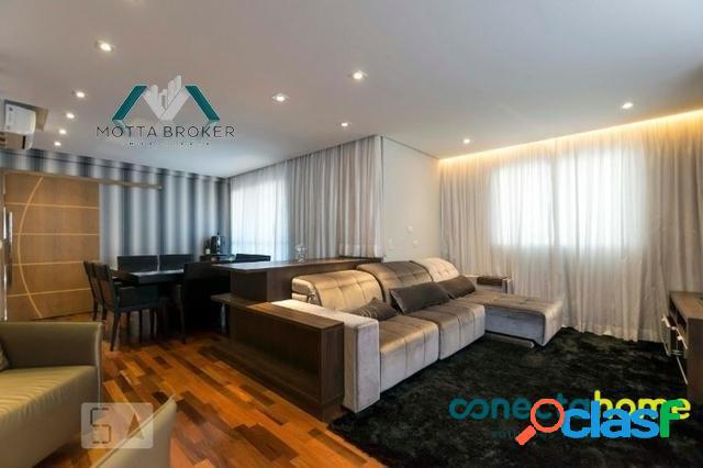 Apartamento de 142 m², 3 suítes e 3 vagas no alto da mooca