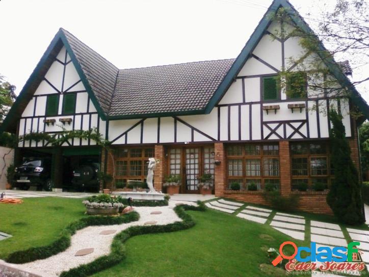 Casa estilo alpino à venda no residencial alpha 8 sp