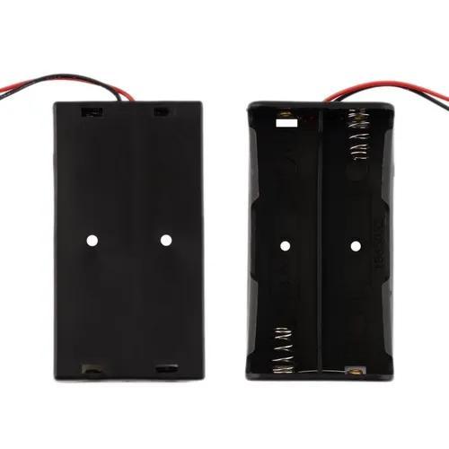 Bateria Caixa De Plástico De Armazenamento Para 2 Pcs 18650