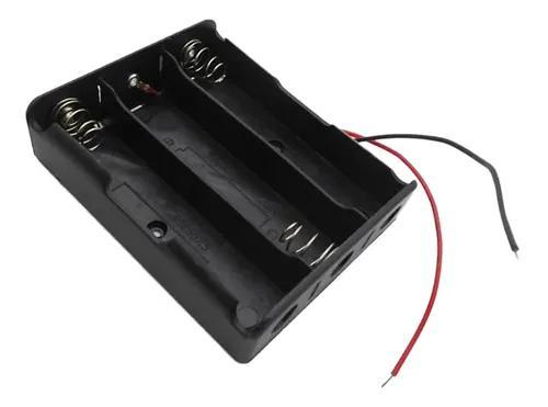 Caixa armazenamento bateria 18650 do titular bateria perfecl